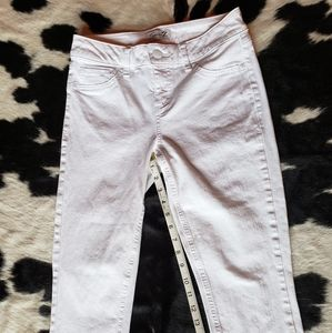 Seven7 cropped skinny jeans, size 4
